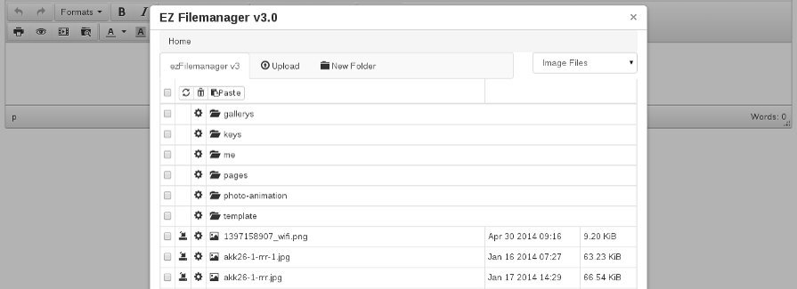 ezFilemanager screenshot