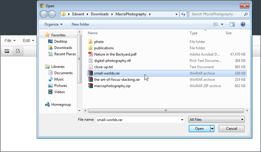 Fast File Uploader screenshot