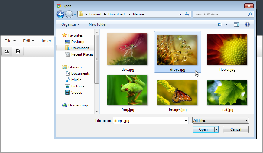 Fast Image Uploader screenshot