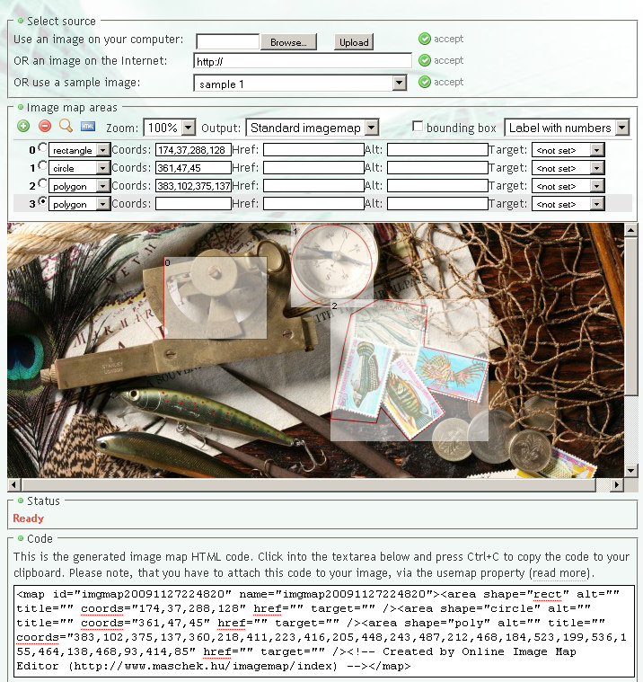 Imgmap plugin screenshot