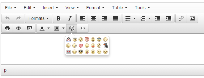 Smileys screenshot